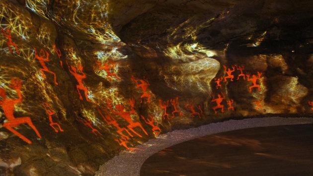 The Cave – Guilin洞內仙境 - 桂林愚自樂園 鐘乳石窟動畫投影