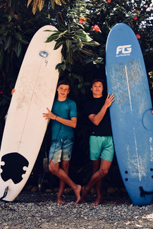 Surfing & Boards Area