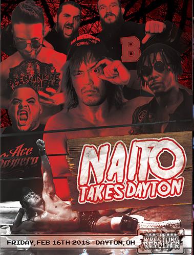 Naito Takes Dayton - 2/16/18 - Dayton, OH