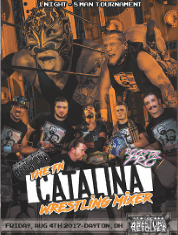 Catalina Wrestling Mixer - 8/4/17 - Dayton, OH