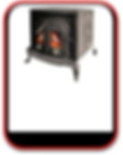 12kW Stove with Back Boiler, 10 - 12 radiators, call (0034) 677 787 384 for more information