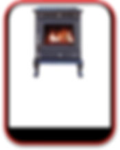 15kW Stove with Back Boiler, 6 - 8 radiators, call (0034) 677 787 384 for more information