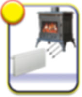 Eco Heating in Spain, Log burners, Back boilers, Log fires in Spain, Wood fires, Wood Stoves