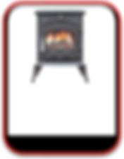 15kW Stove with Back Boiler, 6 - 8 radiators,call (0034) 677 787 384 for more information