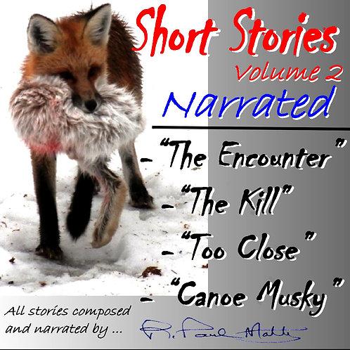 Short Stories, Volume 2 (mailed CD)