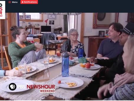 Watch: PBS News Hour Weekend segment on cohousing