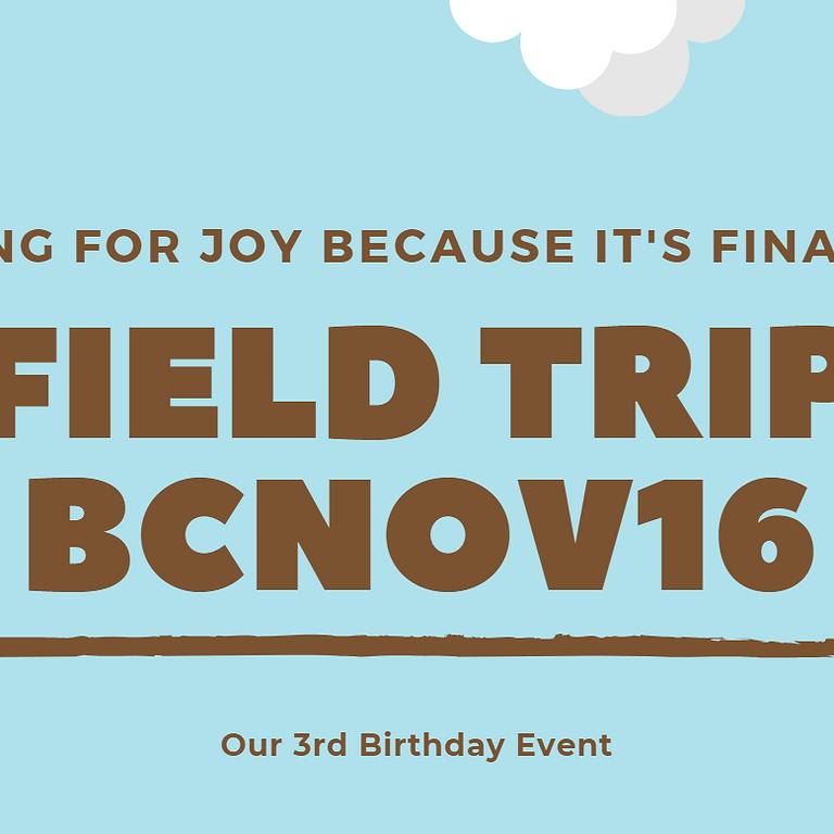 Field Trip BCNOV16