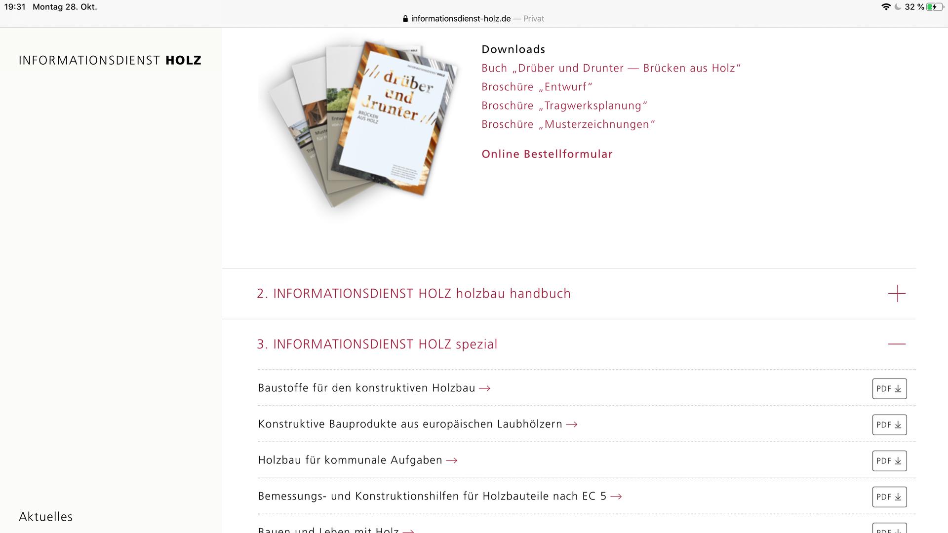 INFORMATIONSDIENST HOLZ