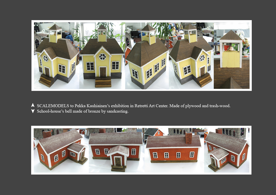 SCALEMODEL HOUSES