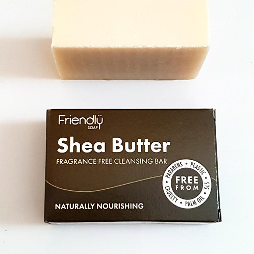 Shea Butter Facial Cleansing Bar by Friendly