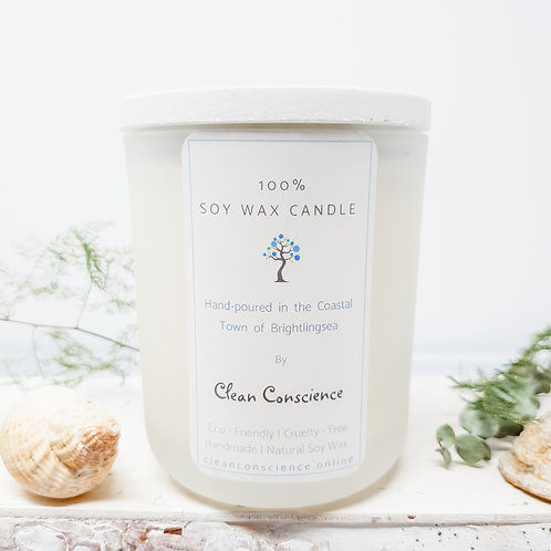 100% Soy Wax Candle by Clean Conscience - 200ml - Sandy Toes & Salty Kisses