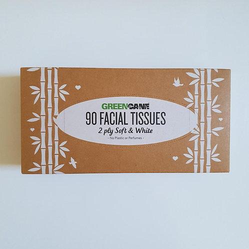 Greencane Facial Tissues - 90 tissues
