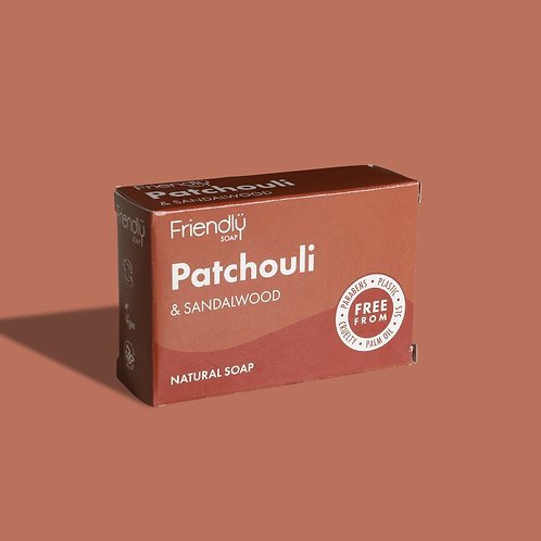Patchouli & Sandalwood Soap by Friendly
