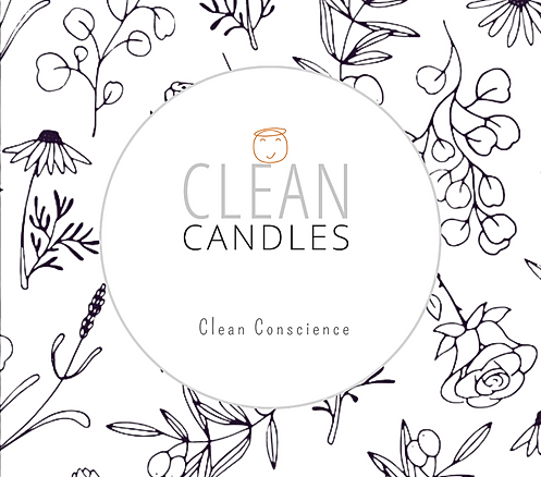 Clean Candles Logo with Botanicals.png