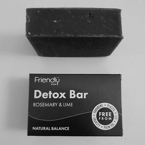 Charcoal Detox bar by Friendly