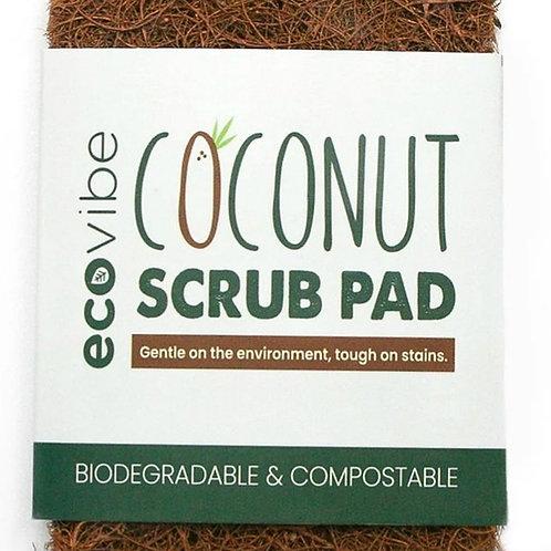Ecovibe Coconut Scrub Pad