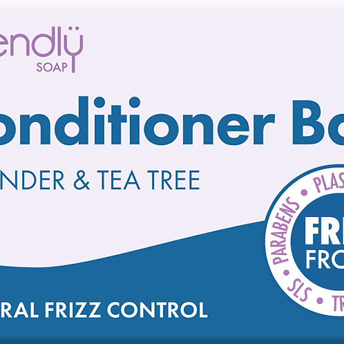 Lavender & Tea Tree Conditioner Bar by Friendly