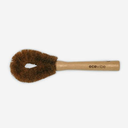 Wooden Dish Brush with Coconut Scourer