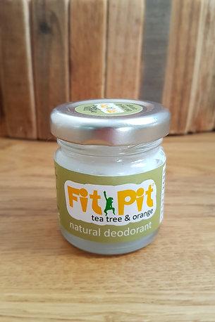 Fit Pit Tea Tree and Orange - Natural Deodorant