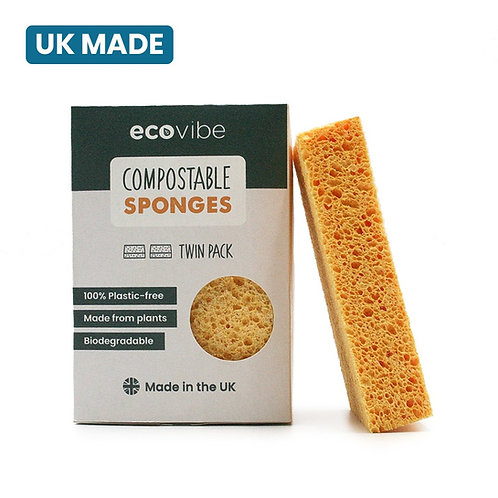 Compostable Sponges - Twin Pack