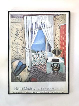 HENRI MATISSE FRAMED MOMA POSTER