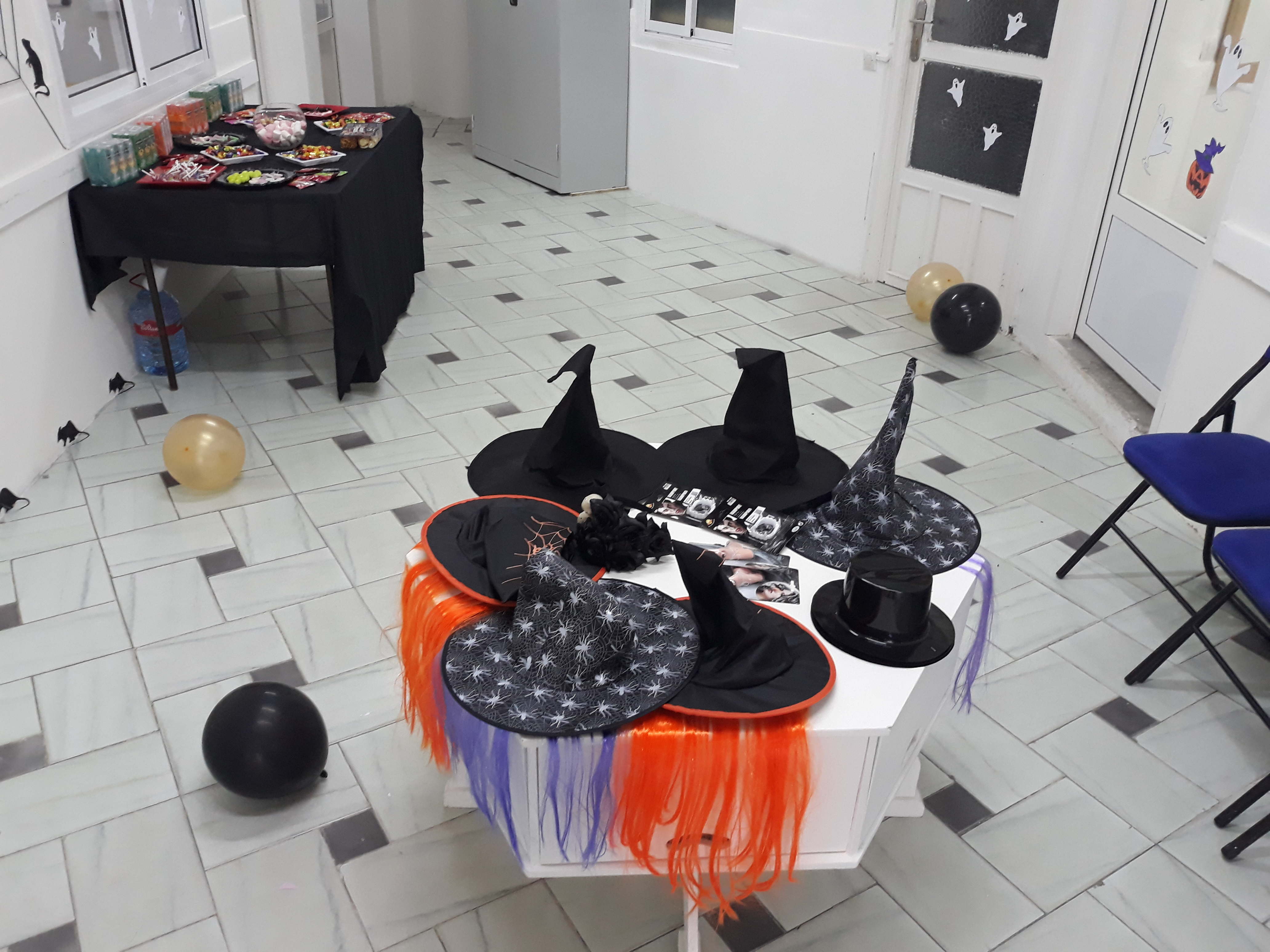 Witch hats for students!