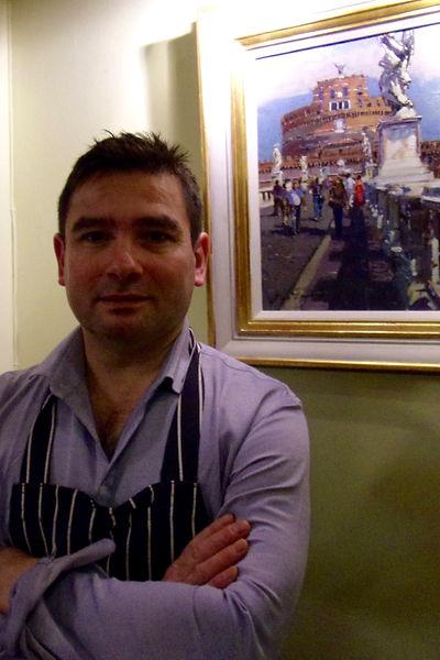 Photo of chef patron manuel jardim goncalves best seafood restaurant bar in dulwich
