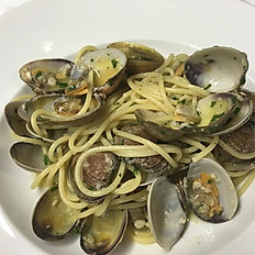 Spaghetti with Clams.