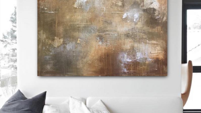 Copper Stone 100 x 100cm