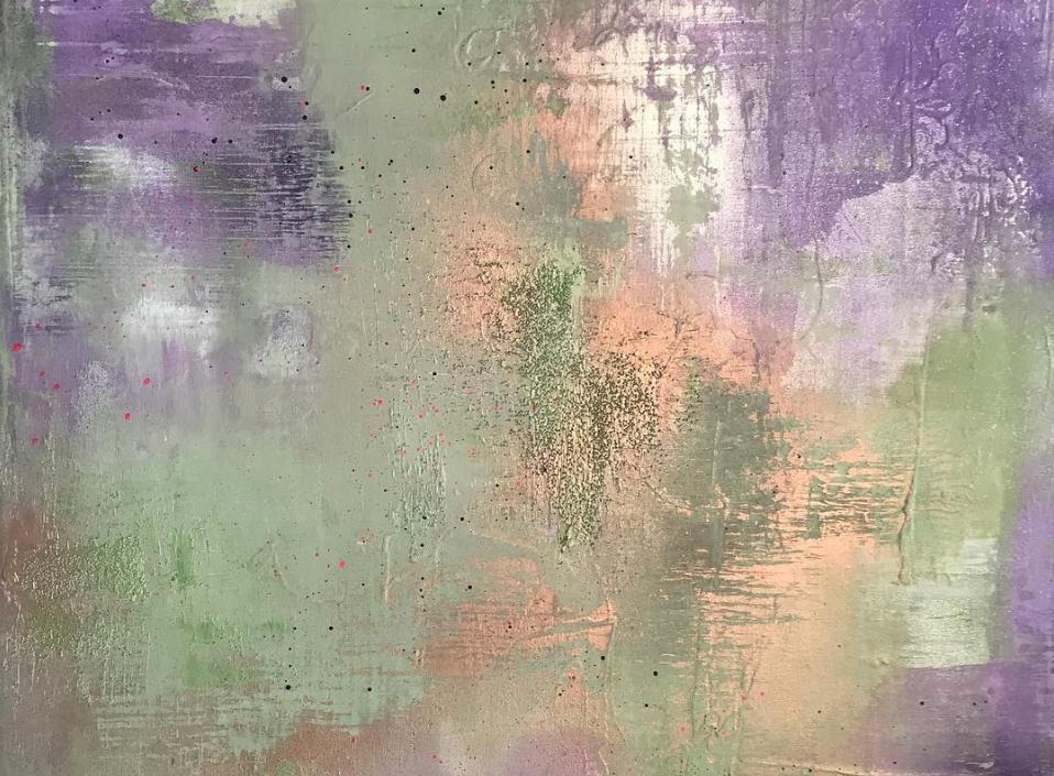 Summer lavender 70x100cm