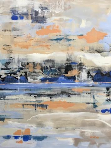 Shoreline Reflection 120x150cm.png