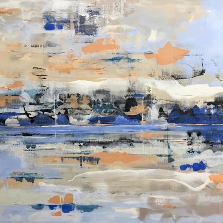 Shoreline Reflection 120x150cm