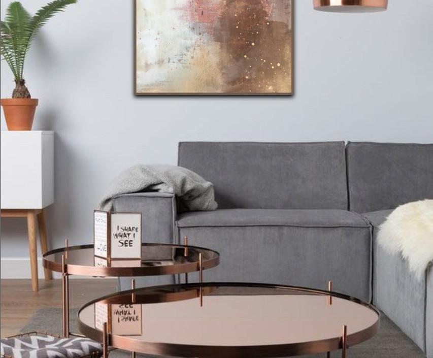 Copper Blush 60x90cm SOLD