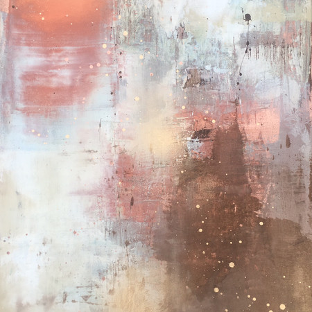 Copper Blush 60x90cm SOLD