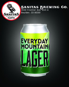 Everyday Mountain Lager Front