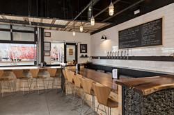 Reclaimed Amish Wood Bar