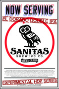 Now Serving EHS Double IPA Poster