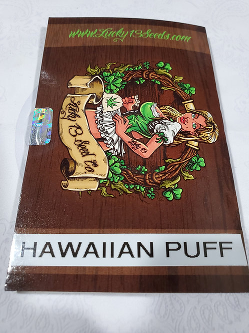 Hawaiian Puff + freebies
