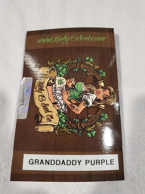 Granddaddy Purple + feeebies