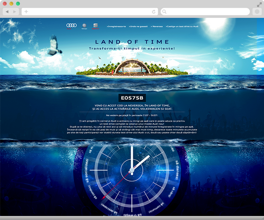 Convert your time in experiences with Audi at Neversea 4