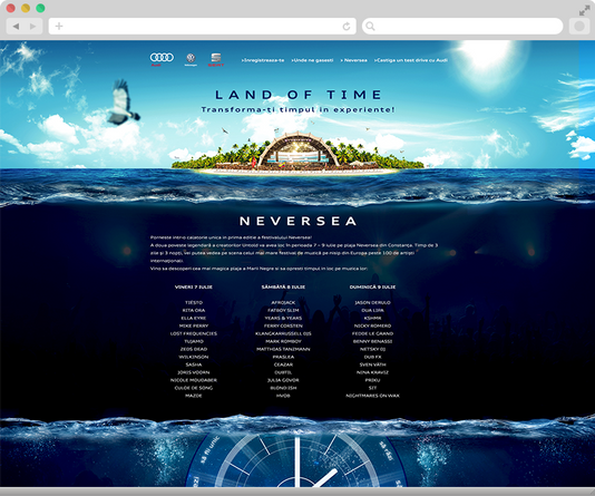 Convert your time in experiences with Audi at Neversea 6