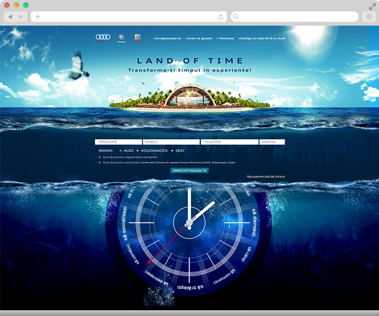 Convert your time in experiences with Audi at Neversea 3