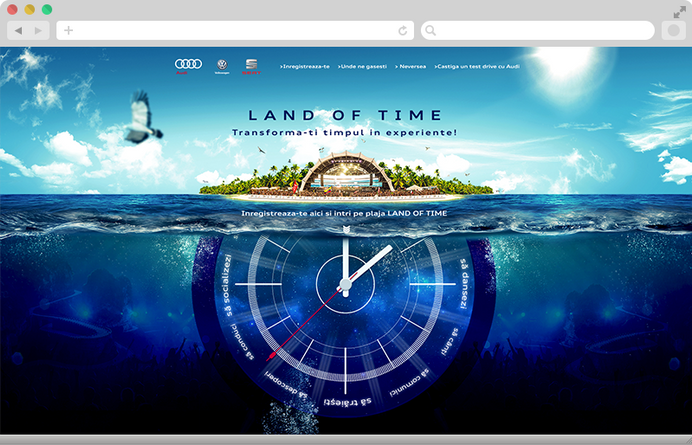 Convert your time in experiences with Audi at Neversea 2