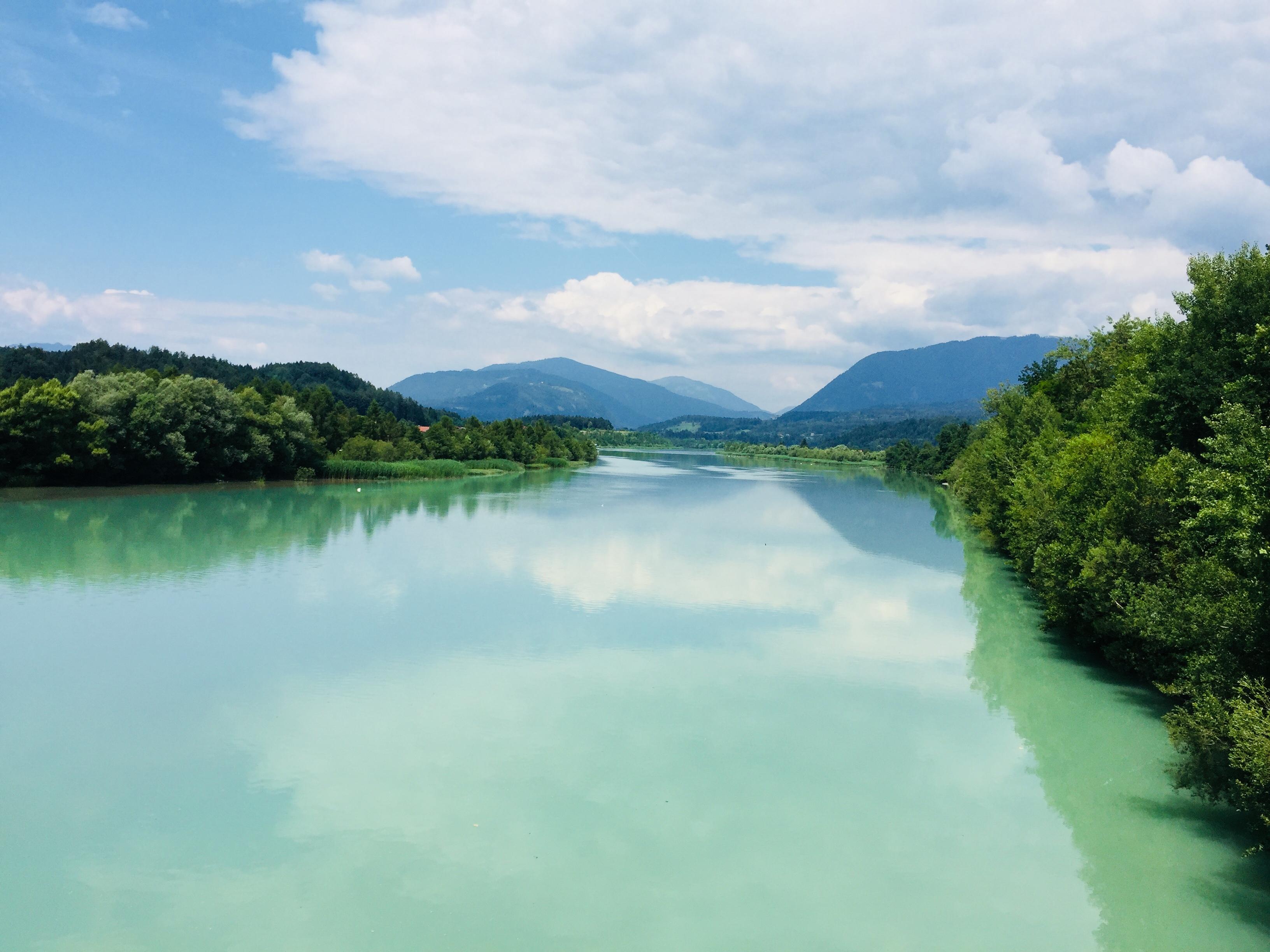 E21-3 Fluss Drau