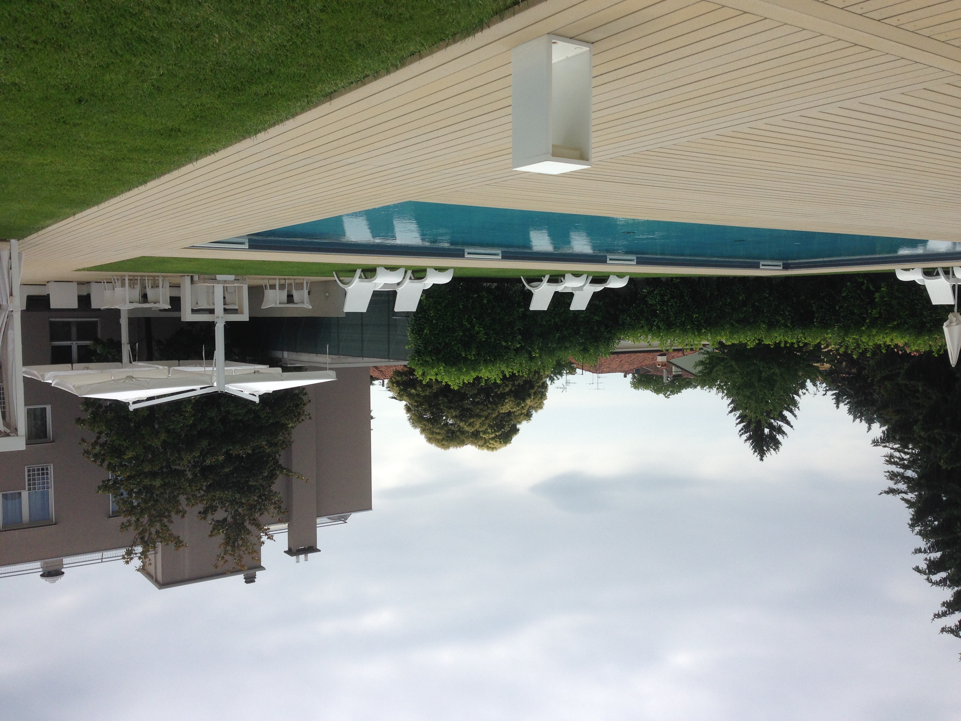 E32-3 Pool beim Hotel Franz in Gradisca