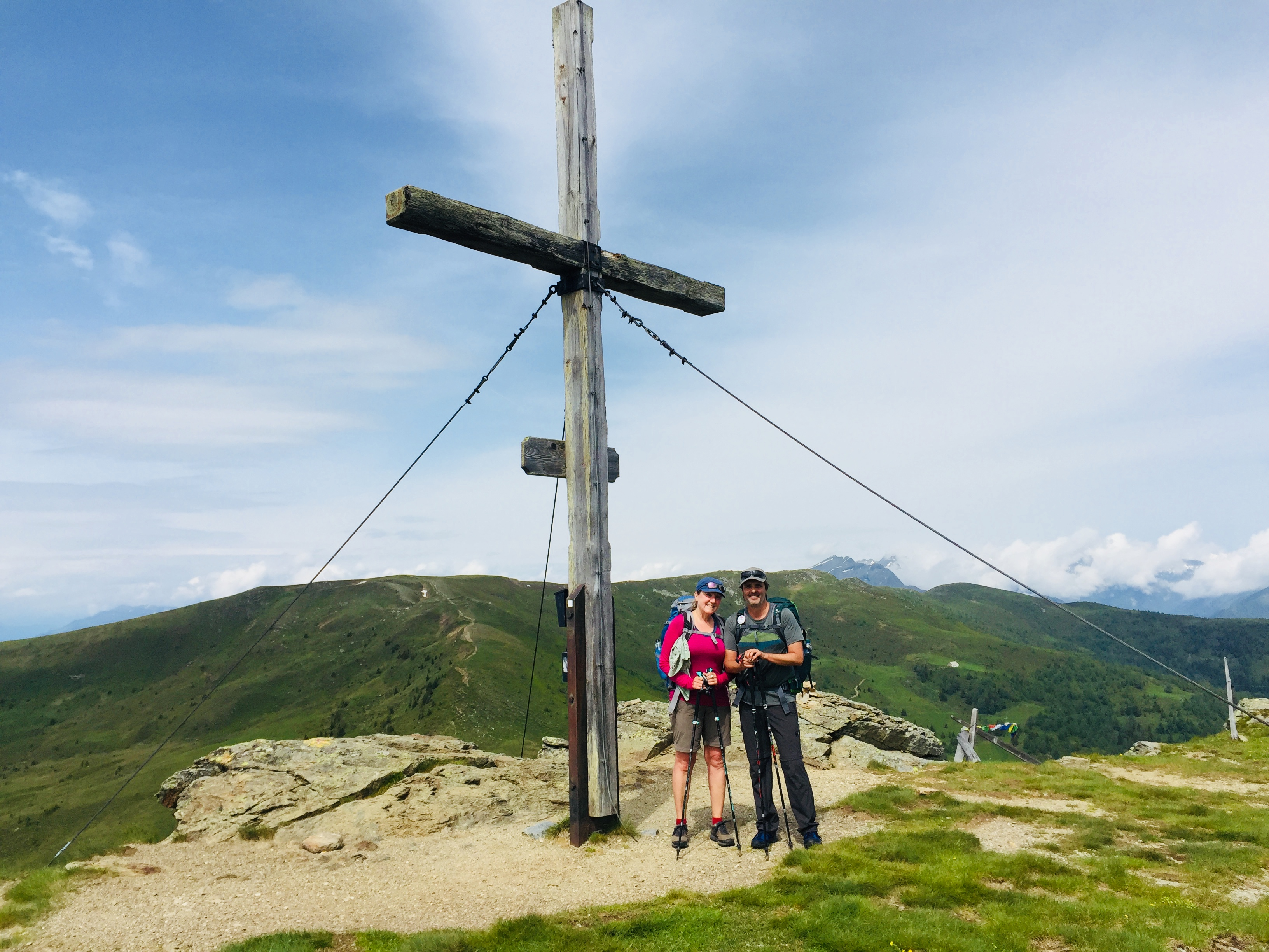 E13-1 Gipfelkreuz Kamplnock