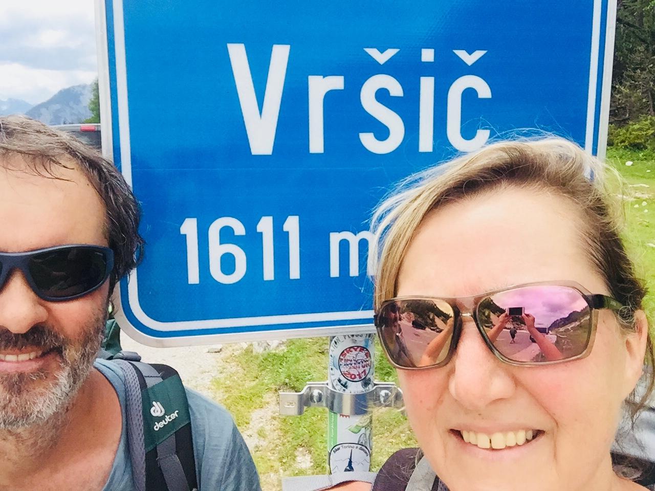 E23-2 auf dem Vrsic Pass