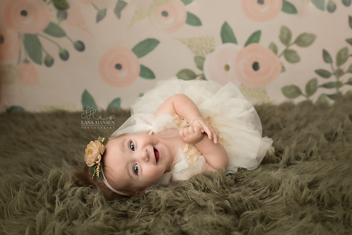 Harper's 9 month session {Baby Photography}