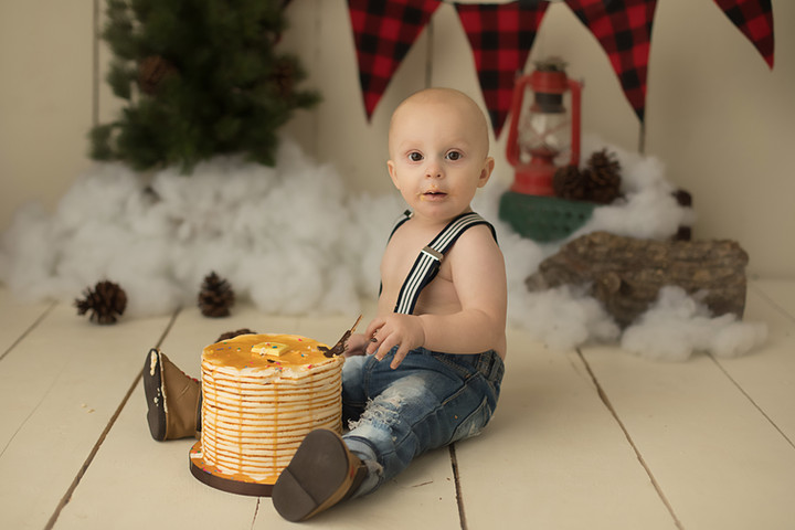Jace's 1st Birthday {Baby Photography}