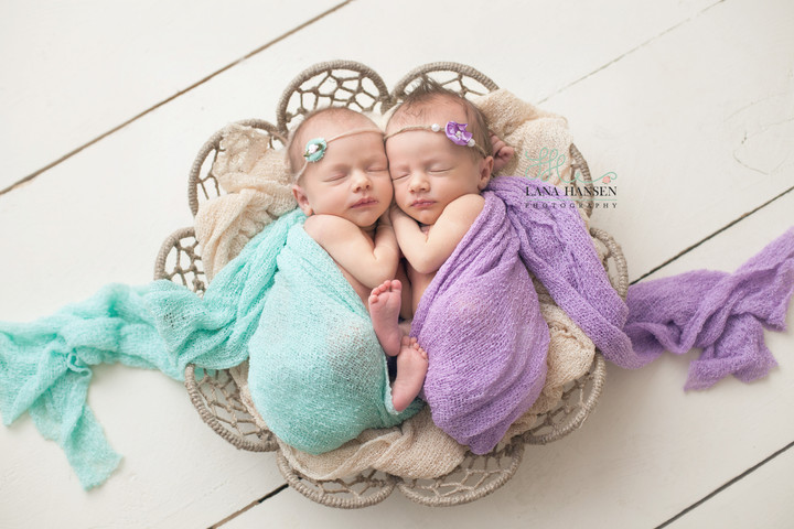 Rollins Twins {Newborn Twin Photography}